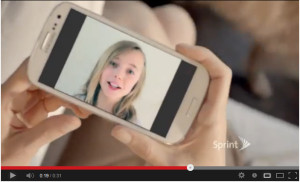 Sprint girl screen shot 2