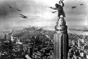kingkong on empire state building